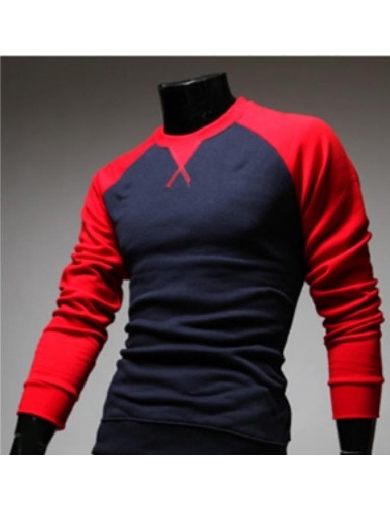 f7583235f Stylish Color Blocking Long Sleeve Sleeved Shirt For Men Boys